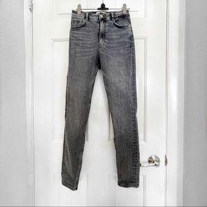 Zara High Waisted Gray Pants